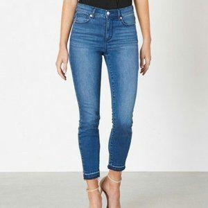 Dynamite Kate High Rise Jeans frayed hem